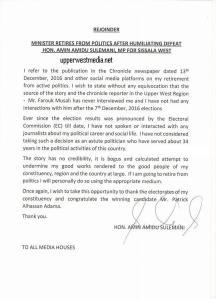 aminu-sulemana-refutes-retirement-claims