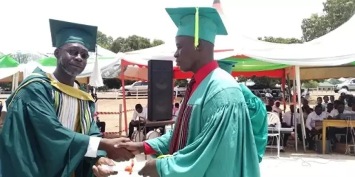 25-year old blind student graduates with first class from NJA College of Education 1
